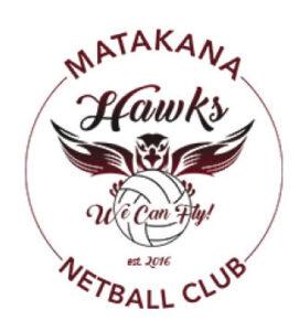 Matakana Hawks Netball Club logo