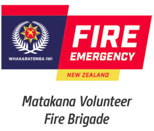 Matakana Volunteer Fire Brigade logo